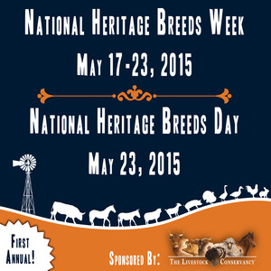 National Heritage Breeds Week